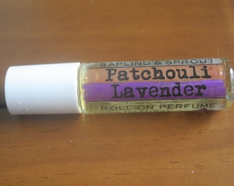 Patchouli Lavender Roll-on Essential Oil Perfume