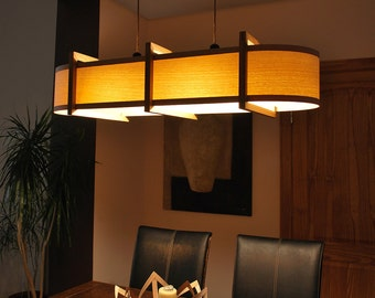 Ceiling light modern kitchen bar or pool table wood lamp from kitchen lighting ceiling light pendant lamp chandelier bar pool table wood lamp from oak and ash also possible to buy matching floor lamp aloadofball Choice Image