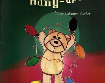 2001 'Holiday Hang-Ups 2' Stained Glass Pattern Book Angels Ornaments Suncatchers