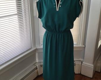 SALE Vintage Leslie Fay dress