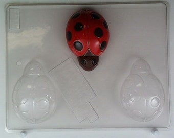 Large ladybugs AO130 Chocolate Candy Mold