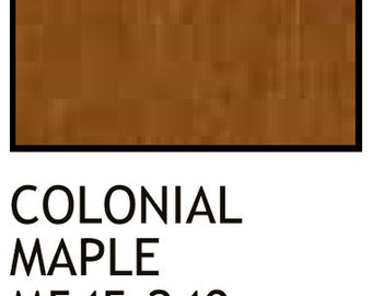 wiping wood and architectural wiping stains 2 Colonial Maple 8 Oz
