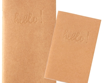 Webster's Pages - Pocket TN Kraft Blank 2 piece Notebook