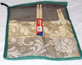 Up-cycled, Drumstick/knitting needle roll