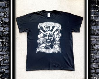 Don't You Like Clowns? - Black T-shirt (Inspired by Captain Spaulding)