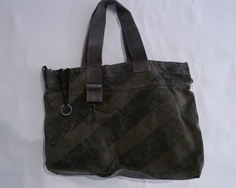 Recycled Military Tote Bag by Yves Andrieux Paris
