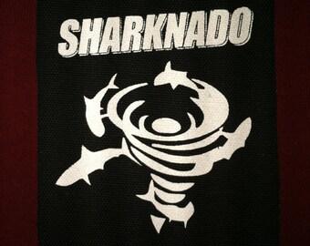 Sharknado Cloth Punk Patch