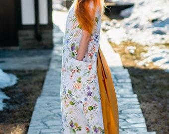 cotton apron and skirt