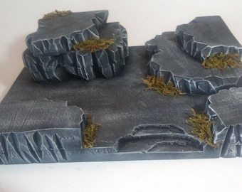 Action Figure Ancient Ruins Diorama