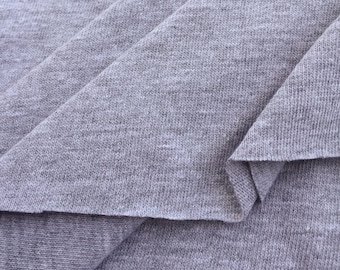 Poly Cotton Jersey Knit Fabric