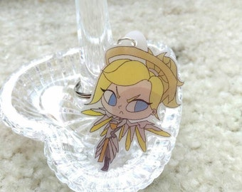 Overwatch Mercy Keychain Free Shipping