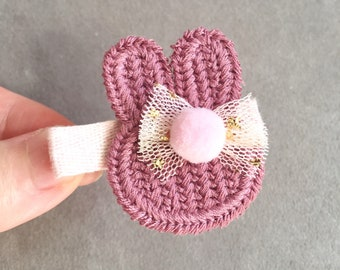 Baby hair clips, Cute Baby Hair Clips, No slip hair clips, Toddler hair clips, baby girl hair accessories, Girl Hair Clips, Bunny Hair Clip