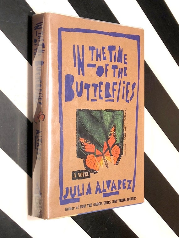 In the Time of the Butterflies by Julia Alvarez (1994) signed first edition book