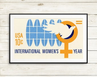 international womens day poster, international womens day, womens day poster, feminist wall art, feminist art, wall art, feminism posters