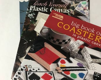 Set of Plastic Canvas Pattern Booklets