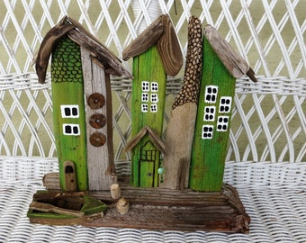 Row Row Your Boat to a Driftwood Village