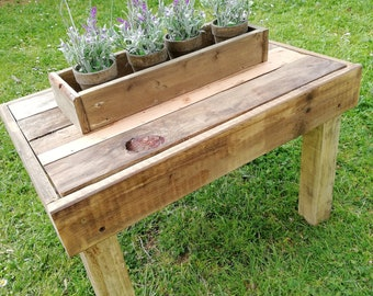 Wooden box with Lavender