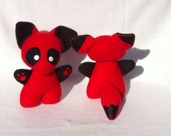 Deadpool Fox Plush Plushie Toy Foxpool