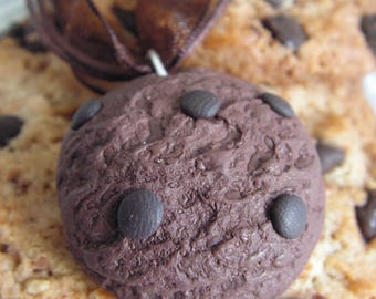 Chocolate Cookie necklace