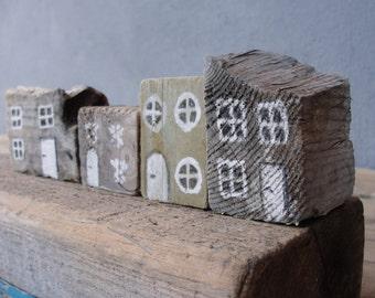 Seashore town Driftwood Art constellation Nautical Home Decor