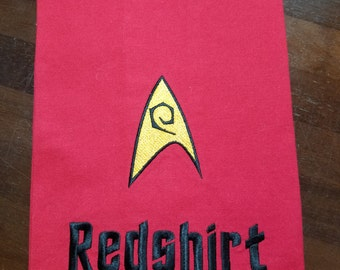 Star Trek Fan Embroidered Towel - Made to Order