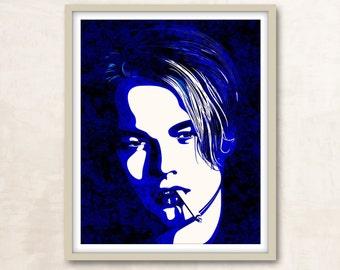 Leonardo Dicaprio Print Dicaprio Poster Titanic Leo Dicaprio Movie Poster Dicaprio Art Wall Art Dicaprio Portrait Art Dicaprio Movie Poster
