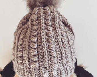 Winter Beanie with Pom Pom