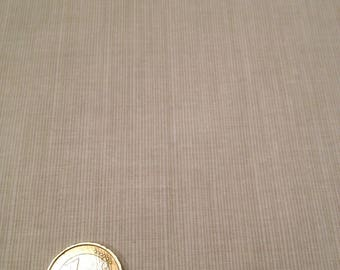 coupon fabric patchwork 50 X 50 cm / beige pinstripes