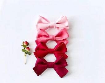 2 Valentine's Day Bows // Mini-Charlotte Style