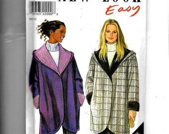 New Look Misses' Coat  Pattern 6790