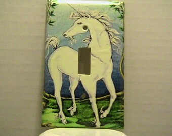 Unicorn Switchplate Cover - Free Shipping - 1007F