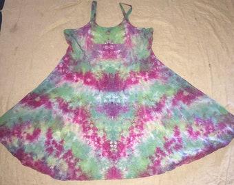 6106 Womens XL Rayon Short Ribbon Strap Dress