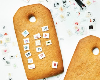 Message Tag Biscuit Kit