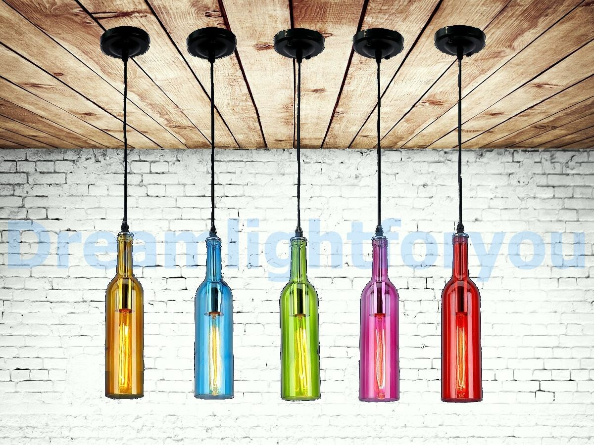 Weinflasche Licht moderne Beleuchtung moderne Kronleuchter