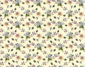 Provencal by American Jane - Floral - Ivory - Moda 21737 12