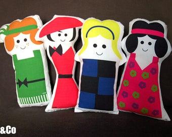"""les poupées """"fashion addicts"""" - kit couture"""