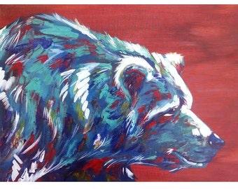 Bear (11 x 14 print)
