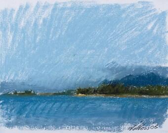 Hawaii, Land, Water, Sky, One