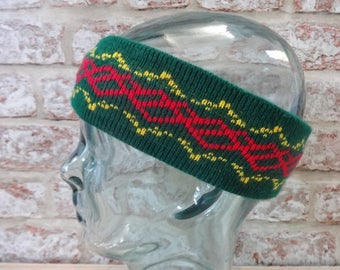 Ski Winter Yllas Headband 80s Retro Vintage Approx.50cm x 6.5cm