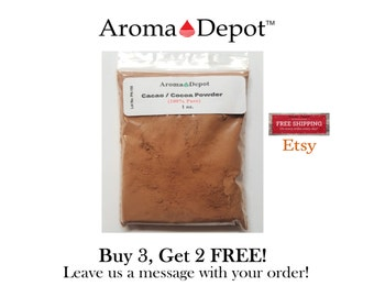 1 oz. Raw Cacao / Cocoa Powder From Ecuador 100% Chocolate Natural Organic Arriba Nacional Bean Buy 2, Get 2 Free!!