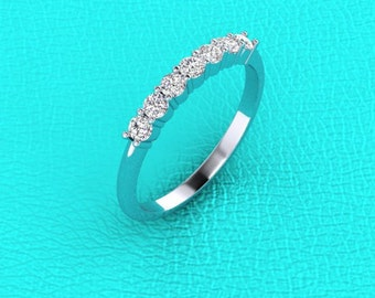 2.4mm Diamond band