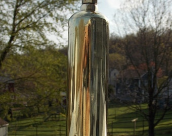 Vintage Brass Fire Extinguisher 7.5 inches long 1 5/8 diameter