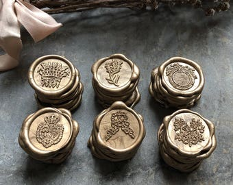 All things French Self Adhesive Wax Seal Collection, French Wax Seals, Wax Seals, Wax Seal, Self Adhesive Wax Seals, Envelope Seals, French