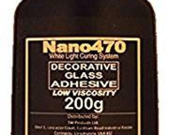 Nano470 Low Viscosity Decorative Adhesive 200g