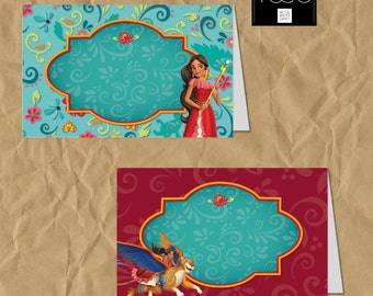 Elena of Avalor Food Tent, Elena of Avalor Party, Elen of Avalor Birthday, Disney Princess, Elena, Princess Elena, Elena de Avalor