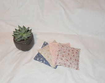 Heating pad, fabric Origami