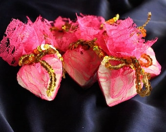 Coconut soaps in glitter Pack