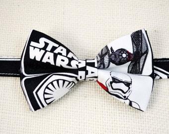 Star Wars Inspired bow tie, boy bow tie, baby bow tie, adult bow tie, men's bow tie