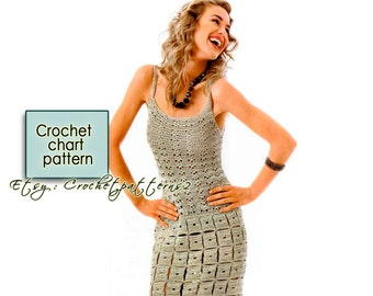 Instant download wedding dress crochet pattern english instant download dress crochet pattern english crochet diagram and basic instructions symbols are ccuart Choice Image