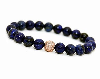 Lapis Lazuli Jewelry, Lapis Lazuli Bracelet, Lapis Bracelet, Blue Lapis Jewelry, Blue Bracelet, Blue Jewelry Womens, Blue Jewelry Mens